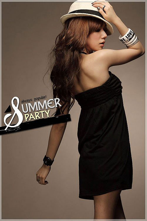 Black Mini Dress Import