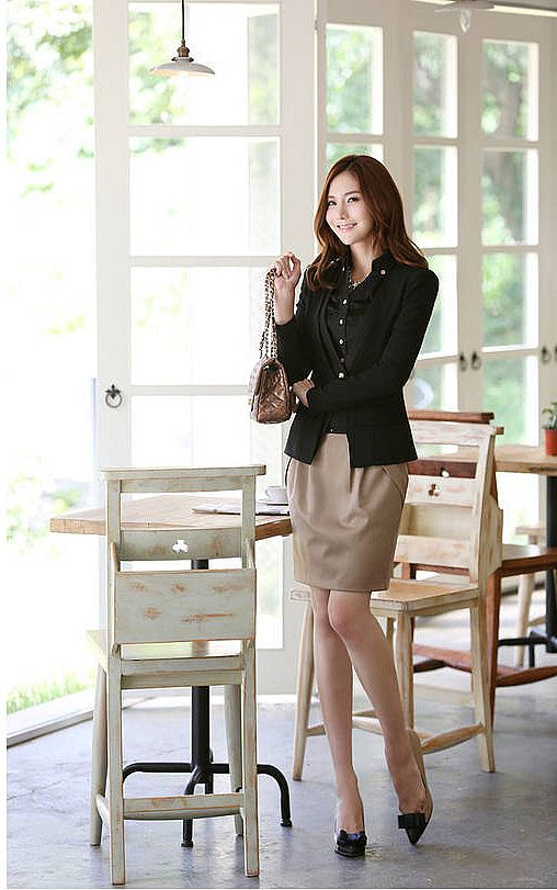 Black Blouse Import 329989