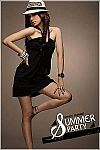 Black Mini Dress Import 25361